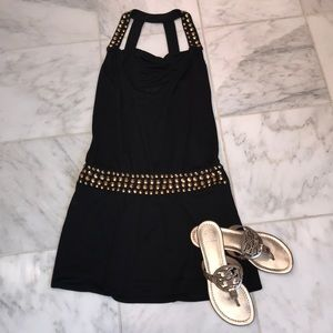 Milly Black & Gold Showstopper Dress!